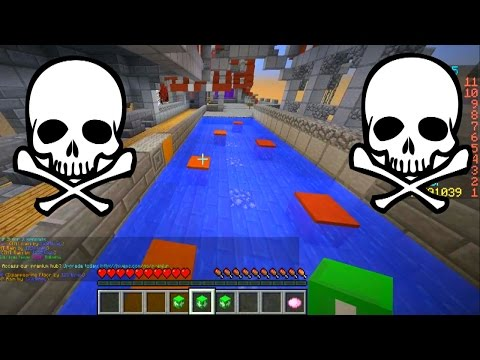 Minecraft DEATH RUN #7 'Multiplayer!' With Vikkstar & PeteZahHutt (Minecraft Death Run Parkour)