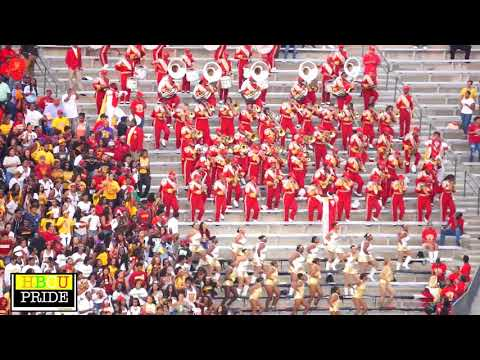 "Tuskegee University -Marching Crimson Pipers ""Get It All"""