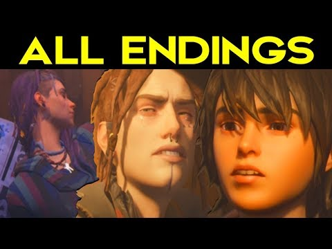 Life Is Strange 2 Episode 3 - ALL ENDINGS (Bad Ending + Good Ending) + SECRET ENDING