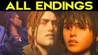 Life Is Strange 2 Episode 3 - ALL ENDINGS (Bad Ending + Good Ending) + SECRET ENDING