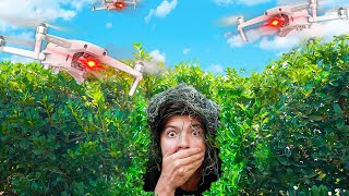 I Used Drones to Cheat in Hide and Seek! (Funny)