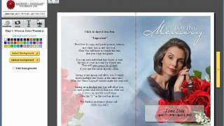 Funeral Programs - Totally Custom Funeral Programs
