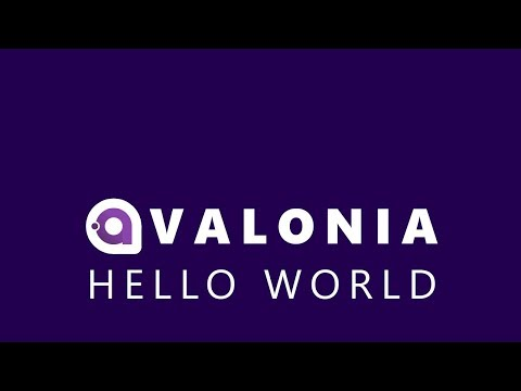 A Cross Platform .NET UI Framework - Hello World in Avalonia UI