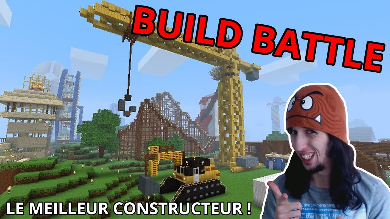Le meilleur constructeur build battle minecraft youtube for Meilleur constructeur