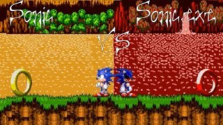 Sonic VS Sonic.exe Comrade Edition - Tailless Tails is back! - Lets Play