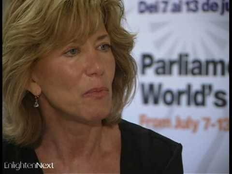 Joan Borysenko at the Parliament of the World