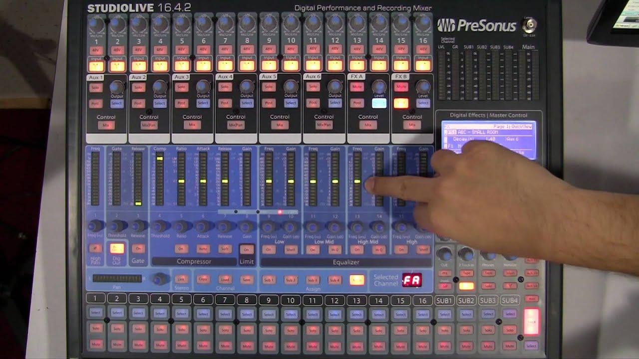Studiolive vs AI for studio use