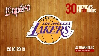 NBA Preview 2018-19 : les Los Angeles Lakers