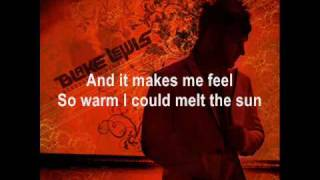 Blake Lewis - Our Rapture Of Love  (With Lyrics)