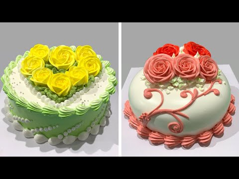 Best Cake Decorating Tutorials for Birthday | How to Make Chocolate Cake Recipes | Oddly Satisfying