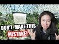 My HUGE mistake at JEWEL CHANGI | Exploring SINGAPORE
