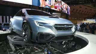 видео Subaru VIZIV Performance STI Concept это будущий WRX STI?
