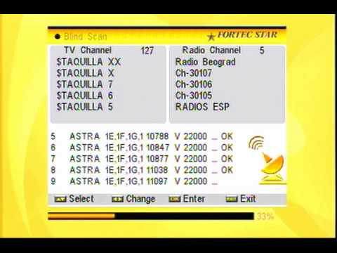 blind scan of astra 1h 2c 19 2 e youtube. Black Bedroom Furniture Sets. Home Design Ideas