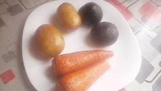 Запекаем овощи в духовке для винегрета