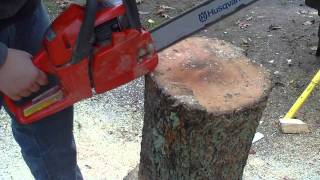 How To Make A Chair With A Chain Saw
