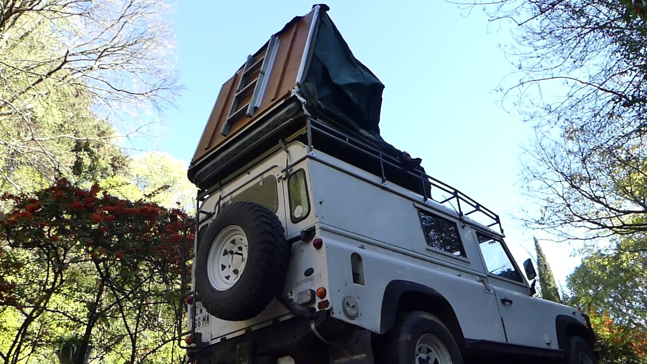 Tentco Rooftop tent on Land Rover Defender (six years later...) : roof tent land rover - memphite.com