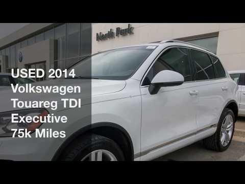 USED 2014 Volkswagen Touareg TDI Executive