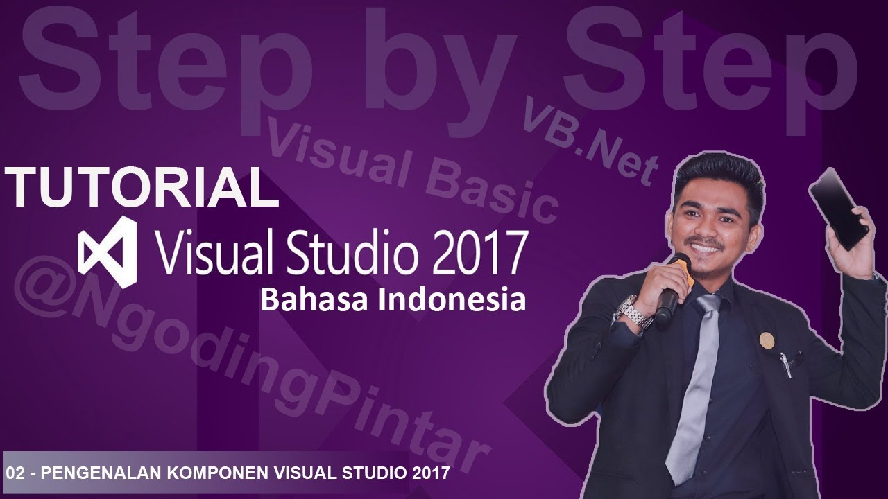 Tutorial visual basic 2008/2010 bahasa indonesia #1 pengenalan vb.