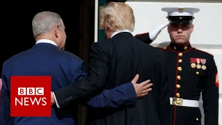 Trump and Netanyahu   in 90 seconds   BBC News