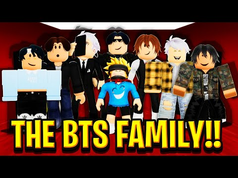 I Got ADOPTED by the BTS FAMILY in Roblox BROOKHAVEN RP!!