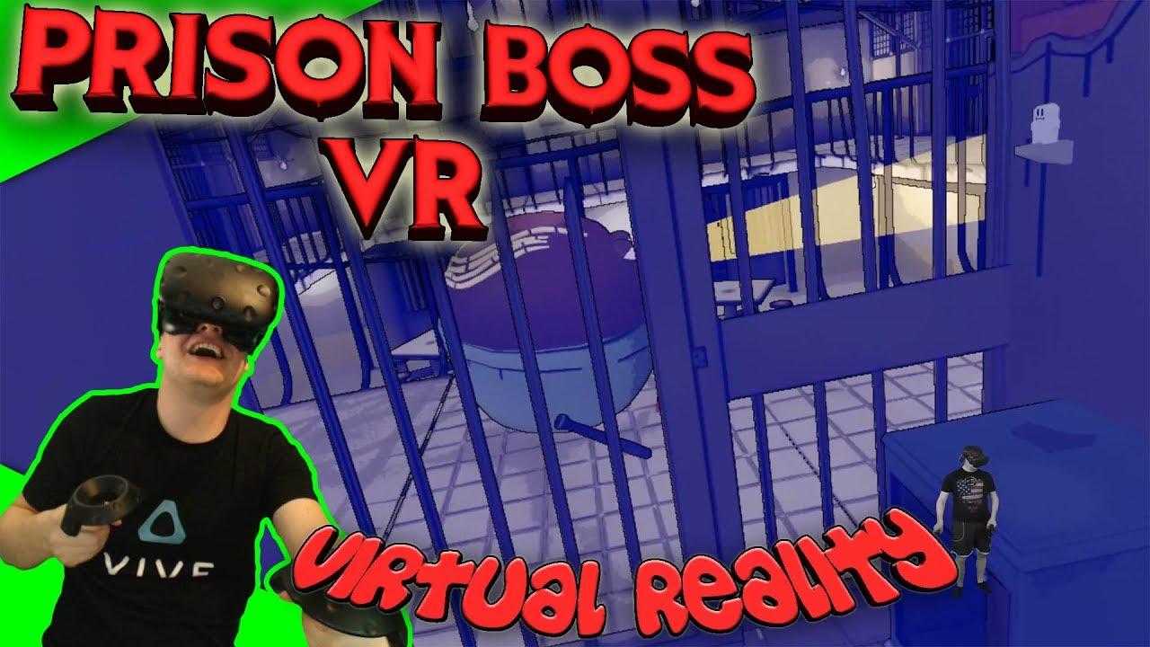 Prison Boss VR Vorsicht Die Wache Kommt Lets PlayGameplay - Minecraft prison escape spielen