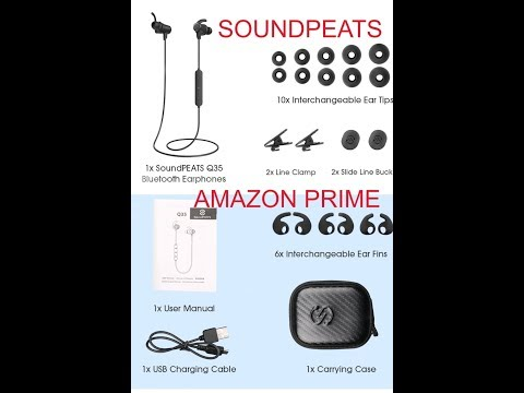 (Episode 2019) Amazon Prime Unboxing: SoundPEATS Magnetic Wireless Earbuds Bluetooth @amazon