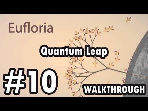 Eufloria - Into the Wild - Level 10 - Quantum Leap (Walkthrough)