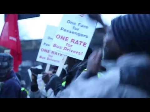 Unite the Union Bus Strike
