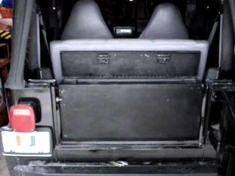 My Jeep Tj S Tool Lock Box Youtube