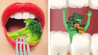 IF FOOD WERE PEOPLE || 100+ Funny Situations & Food Challenges by Kaboom!