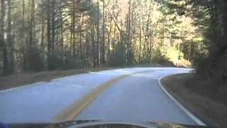 driving from blue ridge ga to helen ga via ga 348 in a miata