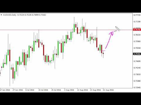 AUD/USD Technical Analysis for September 1 2016 by FXEmpire.com