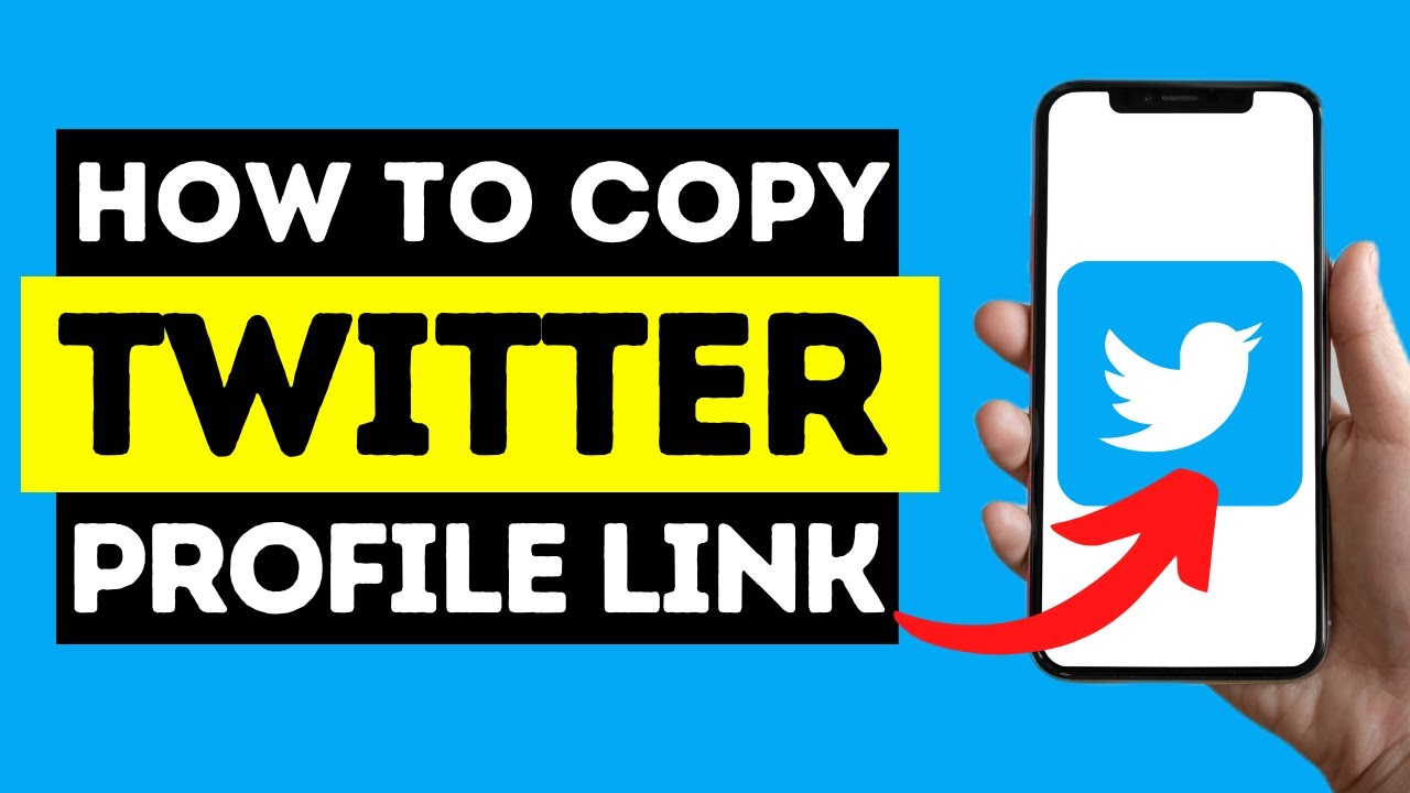How To Copy Your Twitter Profile Link (iPhone Or Android)