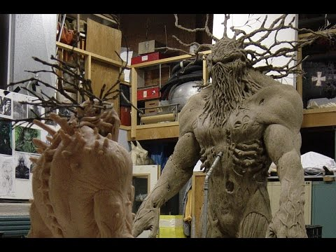 Man -Thing - Marvel - Makeup Effects, Animatronics & Creatures