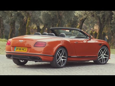 2017 Bentley Continental Supersports Convertible - Open-Air Driving Sophistication