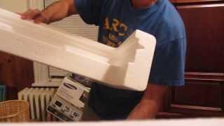 Wie packen Sie Ihren iMac wieder in die Box