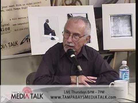 PART 2: Photojournalist Herb Snitzer, Tampa Bay's Media Talk