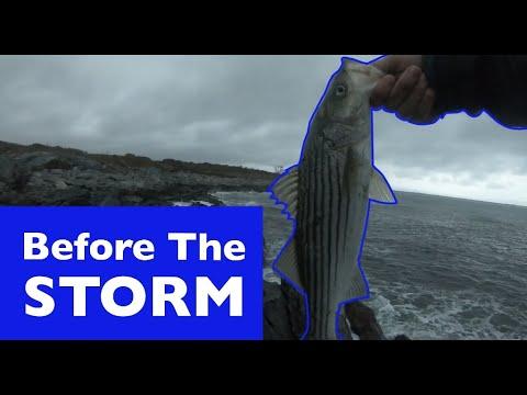 Fishing In Storm | Rhode Island 2020