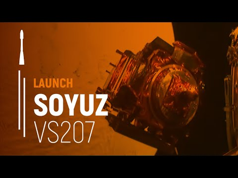 On-board camera provides a unique perspective on Arianespace's successful Flight VS07.