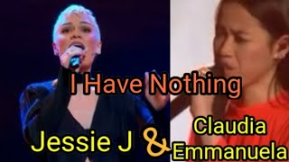 which's better?Jessie j & claudia emmanuela - i have nothing blind audition