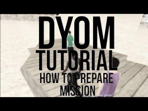GTA SA DYOM Tutorial - How to Setup Mission