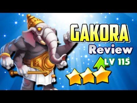 EL MEJOR SUPPORT GAKORA LV 115 !! - Review Monster Legends