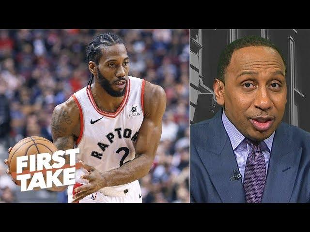 Kawhi Leonard needs to step up for Raptors to make NBA Finals - Stephen A. | First Take