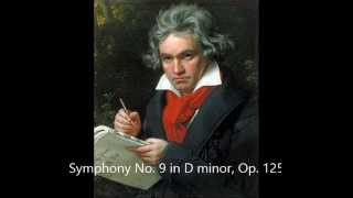 Symphony No 9 in D minor, Op 125 Choral - Beethoven