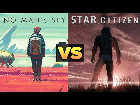 NO MAN'S SKY VS STAR CITIZEN - Dude Soup Podcast #91