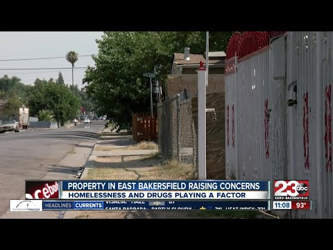 Property in East Bakersfield raises concerns for families living in the neighborhood