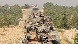 فيديو..تركيا تكثف من قصفها على المسليشيات الكردية
