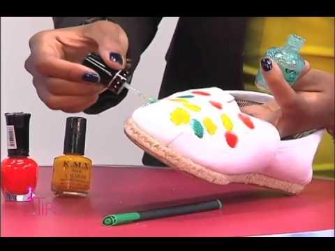 Diy Decora Zapatos Alpargatas Y At Velvetbeautylounge Peinado Novias Tipstv 9 5 15 Parte 1