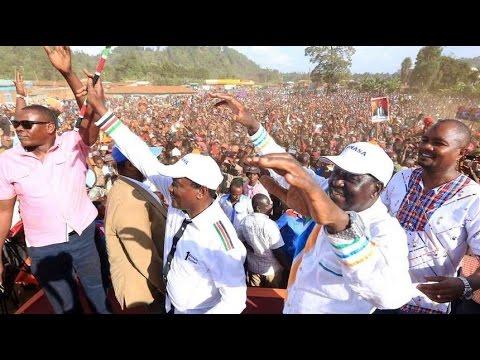 NASA NAIROBI RALLY: Raila Odinga