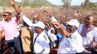 NASA NAIROBI RALLY: Raila Odinga's full speech at Mathare Area rally